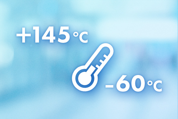 -60℃から+145℃までの温度環境試験製品